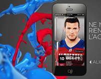 Alouettes / Telus   Mobile App Ad