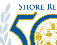 Shore Regional 50th Anniversary Logo