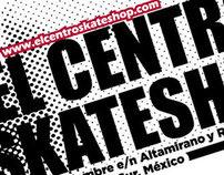 "Tarjeta de Presentacion ""El Centro Skateshop"""