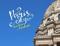 Paris Sky Mockups