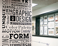 AICA-SF Wall Signage Project