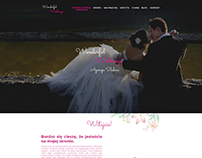 Project website for wedding agency.