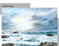 Landscape - Digital painting
