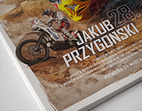 Birthday Poster for Red Bull Athlete - J. Przygoński