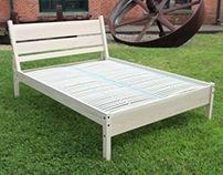 Timber Framed Bed