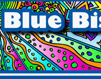 Blue Bishop Bulletin Mailer