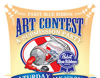 PBR Art Contest Flyer & Print Ad