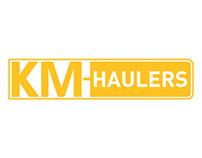 KM Haulers Logo Design