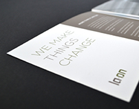 LA-ON / law firm brochure