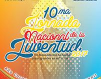 Afiche para la Jornada Nacional de la Juventud 2017
