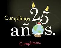 Amex . 25 Años