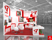 The project of the stand for the company Triniti