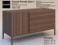 Model A Chest Of Drawers Porada Oslo 1
