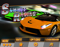 Racing Game UI Design