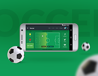 Live Scouting Android App UI