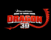 """HOW TO TRAIN YOUR DRAGON"" Dreamworks Animation"