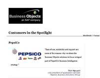 SUCCESS STORIES: Business Objects