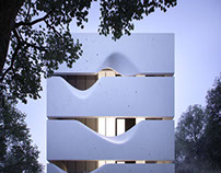 Block House by AZL Architects