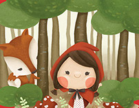 Little Red Riding Hood for Imel's Birthday Party
