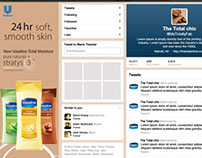 Vaseline proposed digital campaign