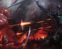 Commission: Attack on Praetoria