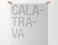 Affiche - Architecture - Calatrava