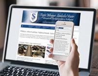 'Szabolcs Vezér' - Website Re-Design