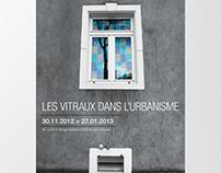 Affiche - Les vitraux dans l'urbanisme