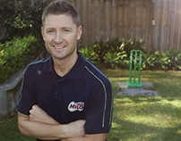 Milo - Clarkey's Backyard Cricket Tips
