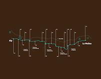 732 Camí de la Ribera Wayfinding