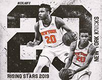 Kevin Knox    NBA Rising Stars Challenge 2019
