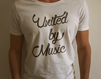 United by Music - logo/t shirt proposal