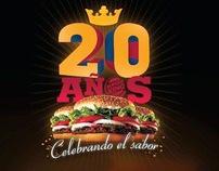 BURGER KING - 20 AÑOS EN HONDURAS