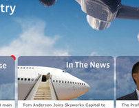 SkyWorks Asia Web Site