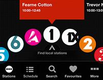 BBC Radio App prototype