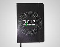 agenda imprimable 2017 LAFARGE