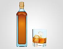Whisky - Dibujo vectorial