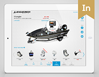 Constructor Application: Legend Boats Builder