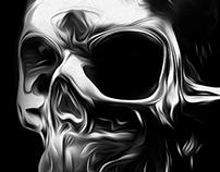 FANTASMAGORIK® METALLIC SKULL FACE 2