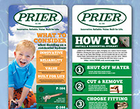Prier Products - Lowe's Promotional Signage