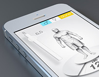 Misfit Shine: Flat design concept
