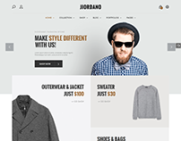 Jiordano - Fashionable WooCommerce WordPress Theme