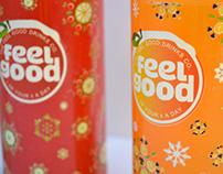 Feel Good Drink : Bottle Packaging