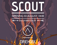 SCOUT exhibition poster