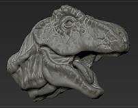 T-Rex 4 - sculp.