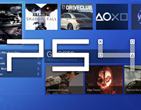 PS4 Interface Design