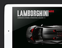 Lamborghini Digital Magazine