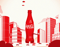COCA COLA SMILEWORD