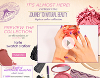 QVC TSV Journey to Natural Beauty Campaign