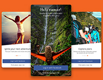 A Travel App with a Difference.